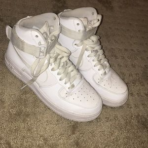 High rise Nike Air Force ones